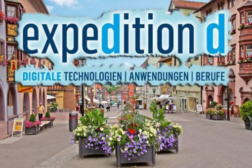 Digitale Berufsorientierung: expedition d zeigt Schülerinnen und Schülern in Rottweil die Berufe der Zukunft