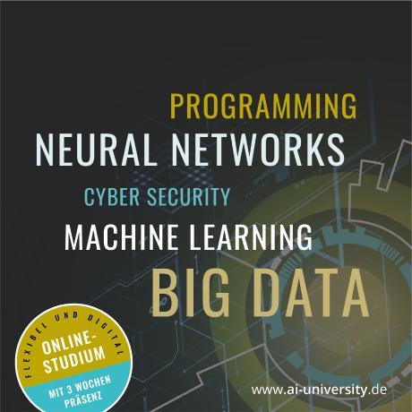Künstliche Intelligenz verstehen und innovative Ideen umsetzen- Im Online-Studium zum digitalen Wegbereiter