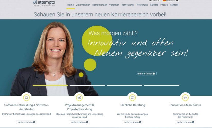 Zukunftsweisende Strategie – attempto zum vierten Mal in Folge mit Innovationspreis ausgezeichnet