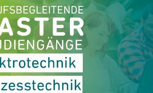Berufsbegleitendes Masterstudium Prozesstechnik (M.Eng.)