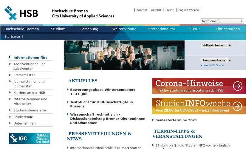 "Zum sechsten Mal: Verleihung des Zertifikats zum ""Audit familiengerechte Hochschule"" an die Hochschule Bremen"