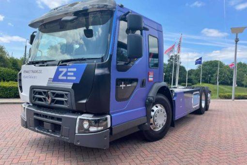 Renault Trucks stellt den neuen E-LKW für die Stadt vor: Der vollelektrische D Wide Z.E. Lec mit niedrigem Fahrerhaus