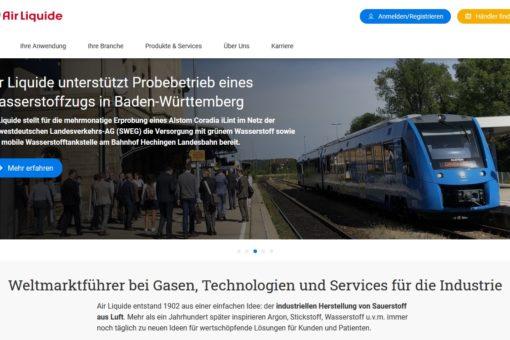 Air Liquide baut den größten, an eine bestehende Wasserstoff-Infrastruktur angeschlossenen Elektrolyseur in Deutschland