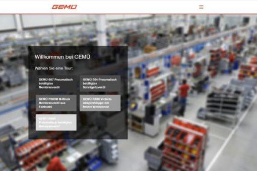 GEMÜ Digital – Virtuelle Werkstour